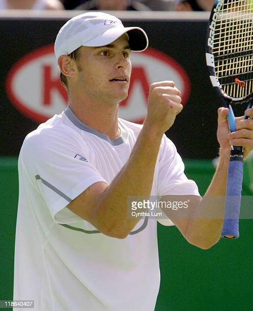 Andy Roddick defeated Fernando Vicente 62 63 62