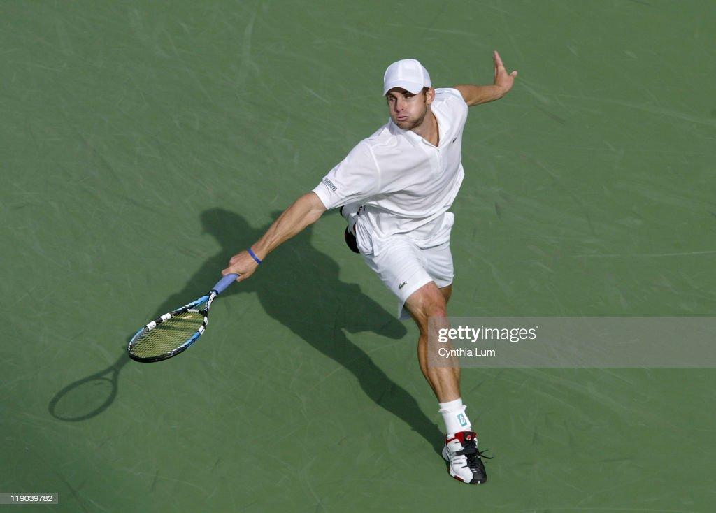 2006 US Open - Men's Singles - Fourth Round - Benjamin Becker vs Andy Roddick