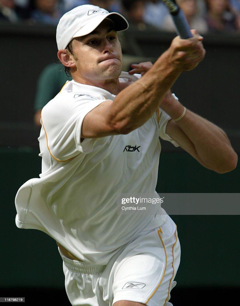 Wimbledon 2003 - Fourth Round - Andy Roddick vs. Paradorn Srichaphan