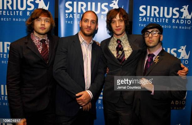 Andy Ross Dan Konopka Damian Kulash and Tim Nordwind of OK Go