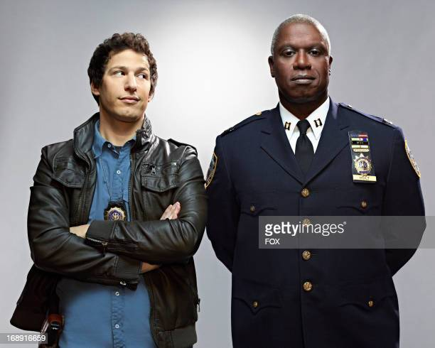 Andy Samberg and Andre Braugher star in the new singlecamera workplace comedy BROOKLYN NINENINE premiering this fall on FOX