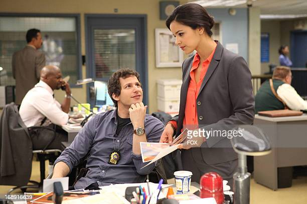Andy Samberg and Melissa Fumero star in the new singlecamera workplace comedy BROOKLYN NINENINE premiering this fall on FOX