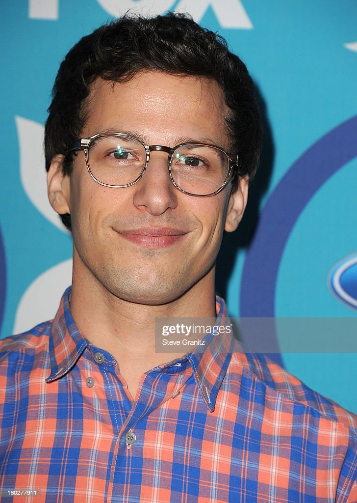 Andy Samberg arrives at the 2013 Fox Fall Eco-Casino Party at The Bungalow on September 9, 2013 in Santa Monica, California.