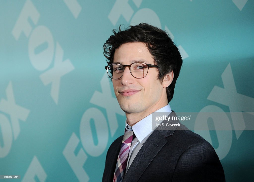 <a gi-track='captionPersonalityLinkClicked' href=/galleries/search?phrase=Andy+Samberg&family=editorial&specificpeople=595651 ng-click='$event.stopPropagation()'>Andy Samberg</a> attends FOX 2103 Programming Presentation Post-Party at Wollman Rink - Central Park on May 13, 2013 in New York City.