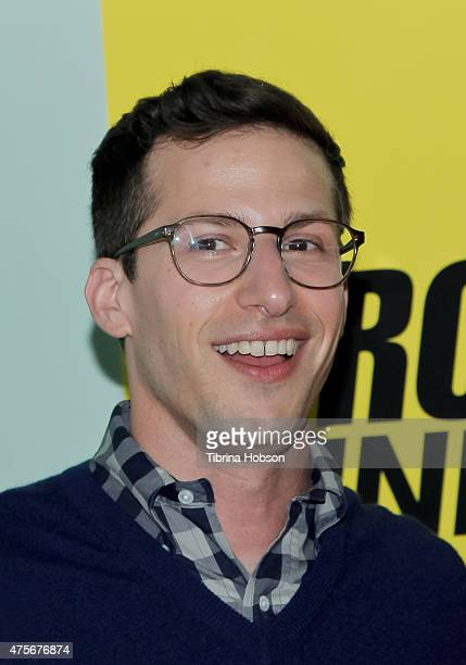 Andy Samberg attends the 'Brooklyn NineNine' FYC panelat UCB Sunset Theater on June 2 2015 in Los Angeles California