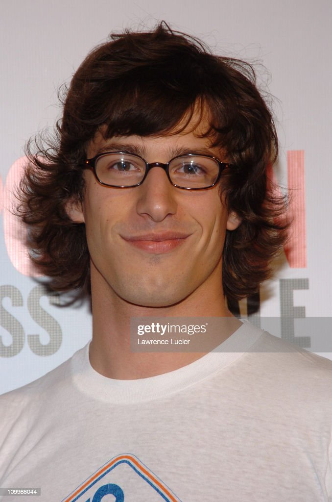 <a gi-track='captionPersonalityLinkClicked' href=/galleries/search?phrase=Andy+Samberg&family=editorial&specificpeople=595651 ng-click='$event.stopPropagation()'>Andy Samberg</a> during Cosmopolitan's 40th Birthday Bash at Skylight Studios in New York City, New York, United States.