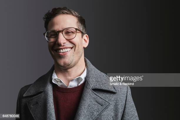 Andy Samberg poses for portrait session at the 2017 Film Independent Spirit Awards on February 25 2017 in Santa Monica California