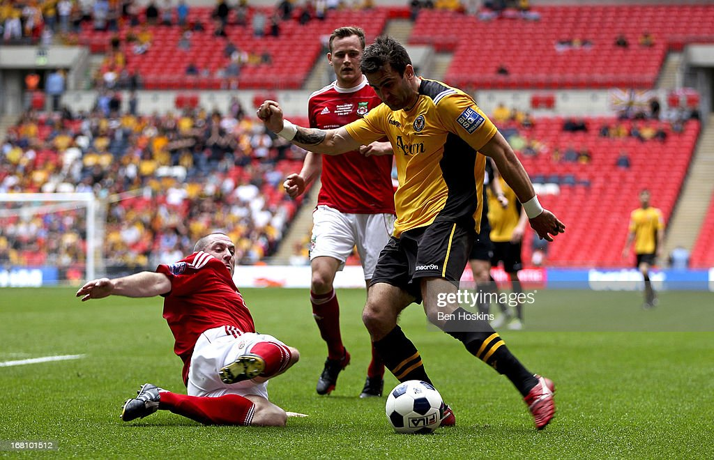 Wrexham v Newport County A.F.C. - Blue Square Bet Premier Conference Play-off Final