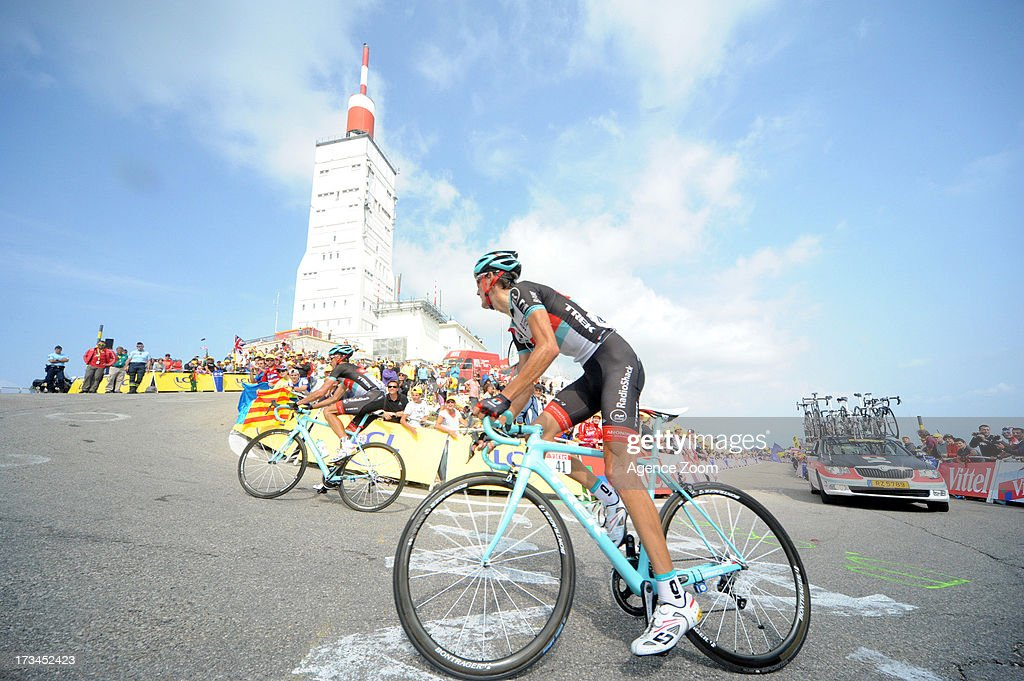 Andy Schleck of Team Radioshack Leopard during Stage 15 of the Tour de France on Sunday 14 July, 2013, Givors to Mont Ventoux, France.