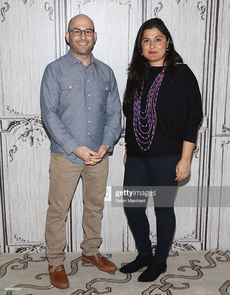 Andy Schocken and <a gi-track='captionPersonalityLinkClicked' href=/galleries/search?phrase=Sharmeen+Obaid-Chinoy&family=editorial&specificpeople=5581145 ng-click='$event.stopPropagation()'>Sharmeen Obaid-Chinoy</a> attend AOL BUILD Presents: <a gi-track='captionPersonalityLinkClicked' href=/galleries/search?phrase=Sharmeen+Obaid-Chinoy&family=editorial&specificpeople=5581145 ng-click='$event.stopPropagation()'>Sharmeen Obaid-Chinoy</a> And Andy Schocken, 'Song of Lahore' at AOL Studios In New York on November 4, 2015 in New York City.