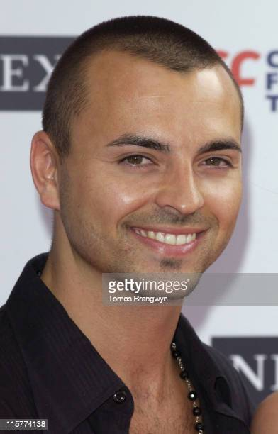 Andy Scott Lee during Cystic Fibrosis Trust Breathing Life Awards Arrivals at Royal Lancaster Hotel in London Great Britain