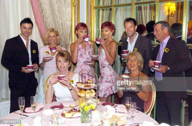 Andy Scott Lee Melinda Messenger The Cheeky Girls James Fox Tony Blackburn Jane Asher and Jennie Bond