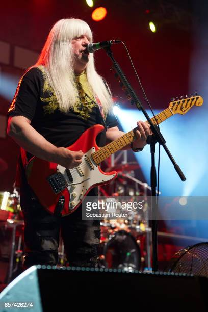 Andy Scott of Sweet performs at Columbiahalle on March 24 2017 in Berlin Germany