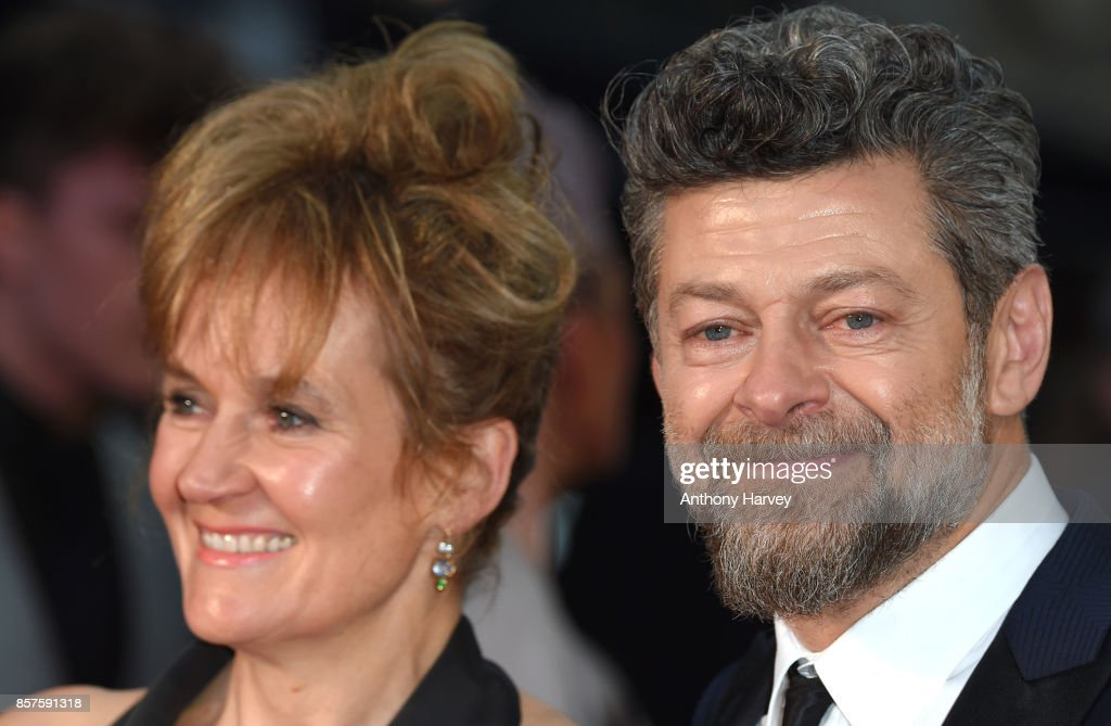 Andy Serkis and Lorraine Ashbourne attend the European Premiere of 'Breathe' on the opening night gala of the 61st BFI London Film Festival on October 4, 2017 in London, England.