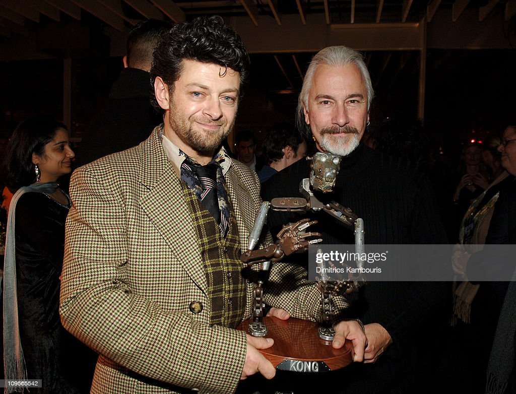 <a gi-track='captionPersonalityLinkClicked' href=/galleries/search?phrase=Andy+Serkis&family=editorial&specificpeople=210893 ng-click='$event.stopPropagation()'>Andy Serkis</a> and <a gi-track='captionPersonalityLinkClicked' href=/galleries/search?phrase=Rick+Baker&family=editorial&specificpeople=540260 ng-click='$event.stopPropagation()'>Rick Baker</a> during Universal Pictures' 'King Kong' New York City Premiere - After Party in New York City, New York, United States.