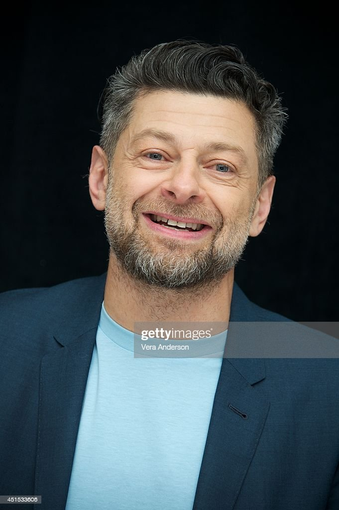 Andy Serkis at the 'Dawn Of The Planet Of The Apes' Press Conference at the Ritz Carlton Hotel on June 27 2014 in San Francisco California