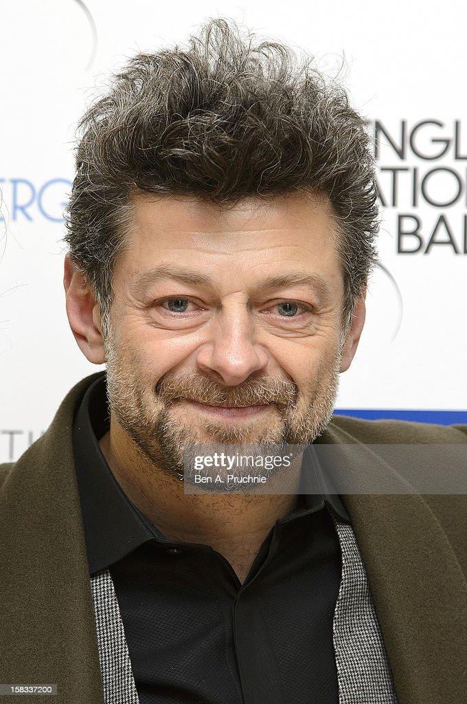 Andy Serkis attends the English National Ballets' Christmas Party at St Martins Lane Hotel on December 13, 2012 in London, England.