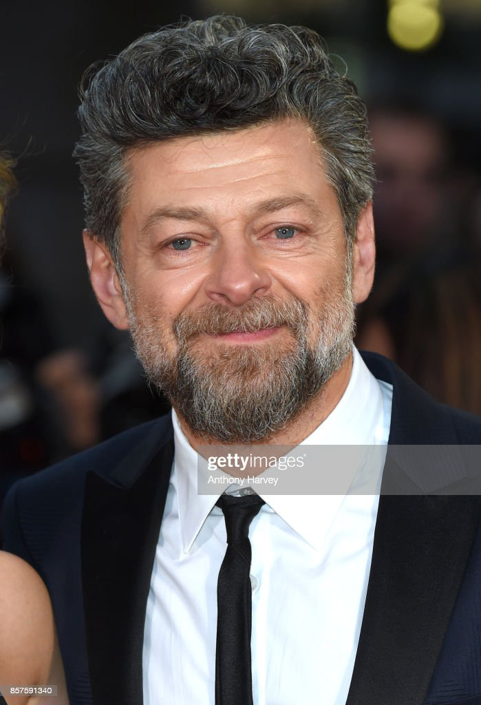 Andy Serkis attends the European Premiere of 'Breathe' on the opening night gala of the 61st BFI London Film Festival on October 4, 2017 in London, England.