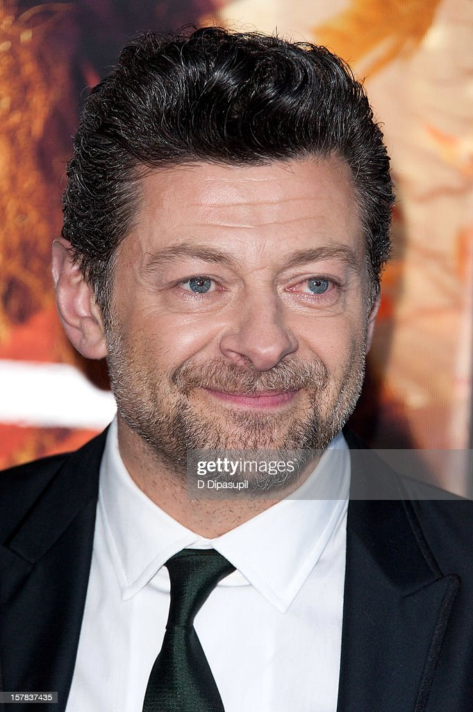 Andy Serkis attends 'The Hobbit: Unexpected Journey' premiere at the Ziegfeld Theater on December 6, 2012 in New York City.