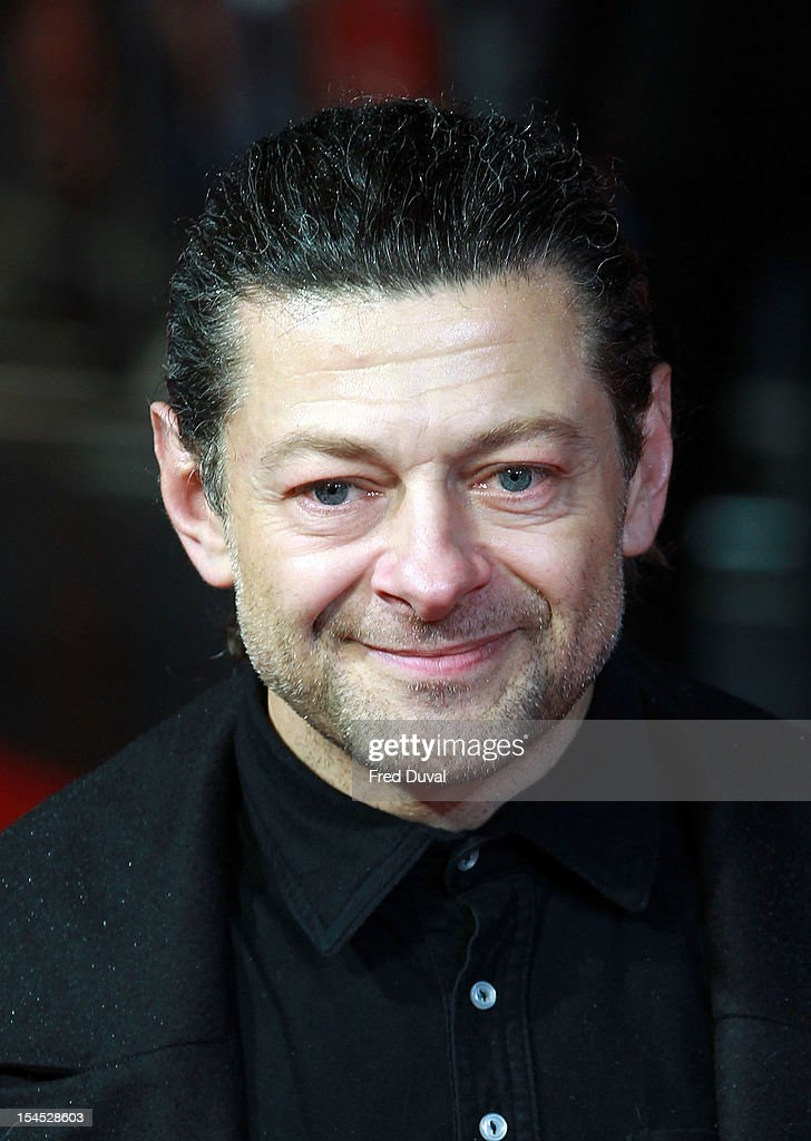 <a gi-track='captionPersonalityLinkClicked' href=/galleries/search?phrase=Andy+Serkis&family=editorial&specificpeople=210893 ng-click='$event.stopPropagation()'>Andy Serkis</a> attends the premiere of 'Great Expectations' which closes the 56th BFI London Film Festival at Odeon Leicester Square on October 21, 2012 in London, England.