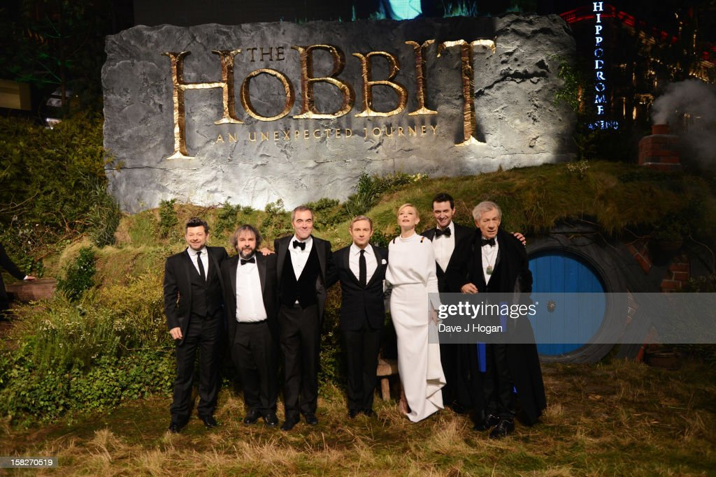 <a gi-track='captionPersonalityLinkClicked' href=/galleries/search?phrase=Andy+Serkis&family=editorial&specificpeople=210893 ng-click='$event.stopPropagation()'>Andy Serkis</a>, <a gi-track='captionPersonalityLinkClicked' href=/galleries/search?phrase=Peter+Jackson+-+Filmmaker&family=editorial&specificpeople=203018 ng-click='$event.stopPropagation()'>Peter Jackson</a>, <a gi-track='captionPersonalityLinkClicked' href=/galleries/search?phrase=James+Nesbitt&family=editorial&specificpeople=211175 ng-click='$event.stopPropagation()'>James Nesbitt</a>, <a gi-track='captionPersonalityLinkClicked' href=/galleries/search?phrase=Martin+Freeman&family=editorial&specificpeople=214753 ng-click='$event.stopPropagation()'>Martin Freeman</a>, <a gi-track='captionPersonalityLinkClicked' href=/galleries/search?phrase=Cate+Blanchett&family=editorial&specificpeople=201621 ng-click='$event.stopPropagation()'>Cate Blanchett</a>, Richard Armitage and Sir Ian Mckellen attend a royal film performance of 'The Hobbit: An Unexpected Journey' at The Empire Leicester Square on December 12, 2012 in London, England.