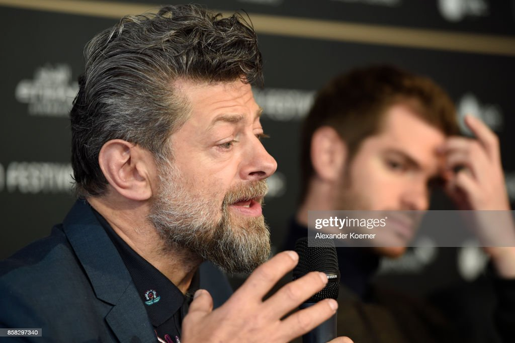 Andy Serkis speaks at the 'Breathe' press conference during the 13th Zurich Film Festival on October 6, 2017 in Zurich, Switzerland. The Zurich Film Festival 2017 will take place from September 28 until October 8.