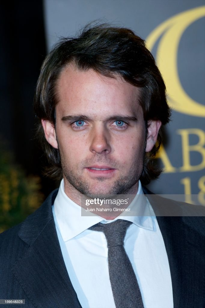 Andy Soucek attends David Bustamante's dinner with friends at Gabana 1800 on January 15, 2013 in Madrid, Spain.