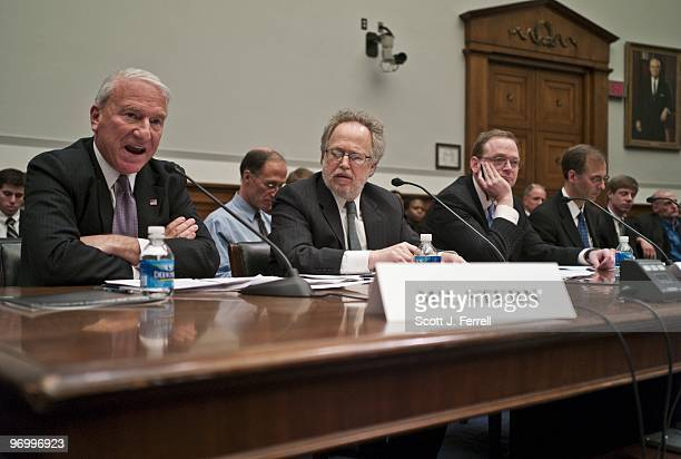 Andy Stern president of the Service Employees International Union Lawrence Mishel president of the Economic Policy Institute Kevin A Hassett director...