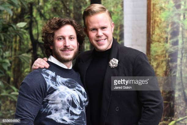 Andy Stewart and Andrew Werner attend the Eklund|Gomes 10 Year Anniversary Bash at The Garage in NYC on February 2 2017 in New York City