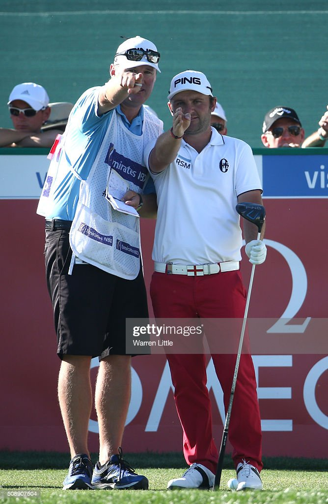 <a gi-track='captionPersonalityLinkClicked' href=/galleries/search?phrase=Andy+Sullivan+-+Golfer&family=editorial&specificpeople=13886721 ng-click='$event.stopPropagation()'>Andy Sullivan</a> of England prepares to tee off on the 17th hole during the final round of the Omega Dubai Desert Classic on the Majlis Course at the Emirates Golf Club on February 7, 2016 in Dubai, United Arab Emirates.