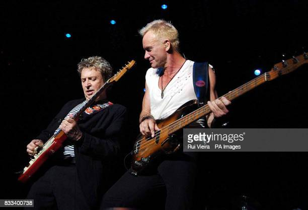 Andy Summers amp Sting of the Police in concert at the National Indoor Arena in Birmingham
