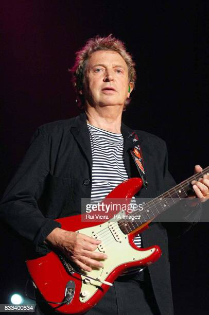 Andy Summers of the Police in concert at the National Indoor Arena in Birmingham