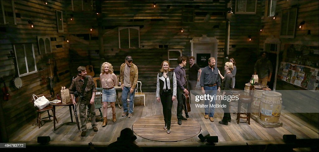Andy Taylor Erin Dilly Bob Stillman Adam Cochran Kate Baldwin Eric William Morris Ephie Aardema Drew McVety Kacie Sheik and Don Guillory during the...
