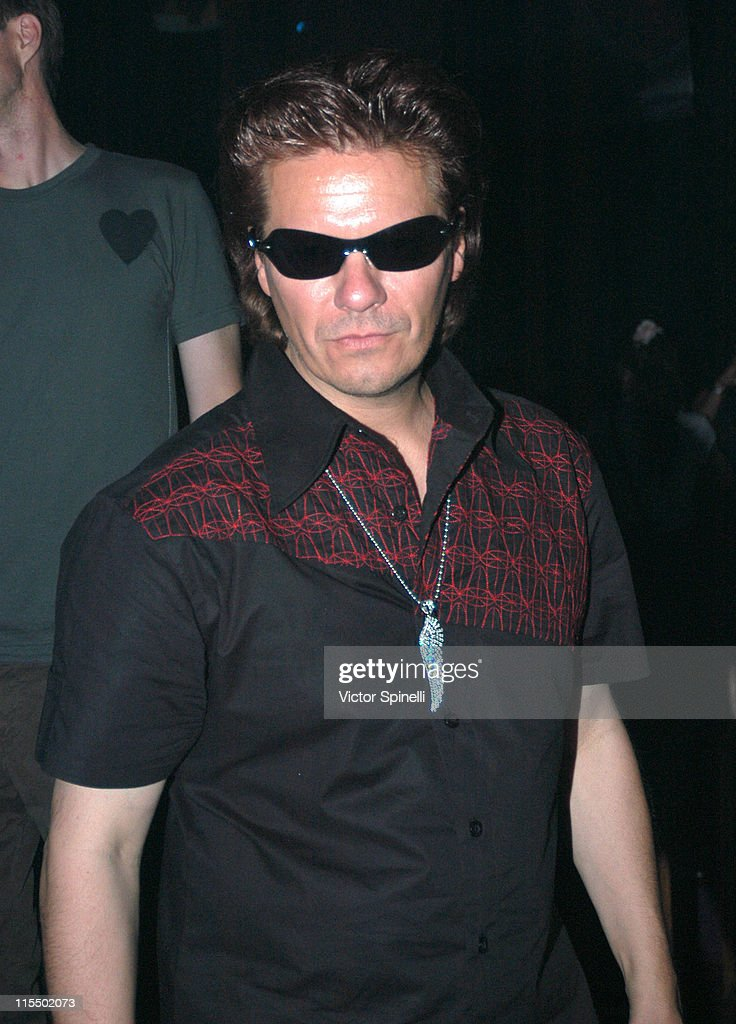 Andy Taylor of Duran Duran during Manumission Week 5 - The Largest Party in the World at Privilege in Ibiza, Spain.