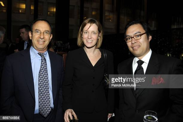 Andy Tobias Alison Werde and Dakila Divina attend PARADE MAGAZINE and SI Newhouse Jr honor Walter Anderson at The 4 Seasons Grill Room on March 31...