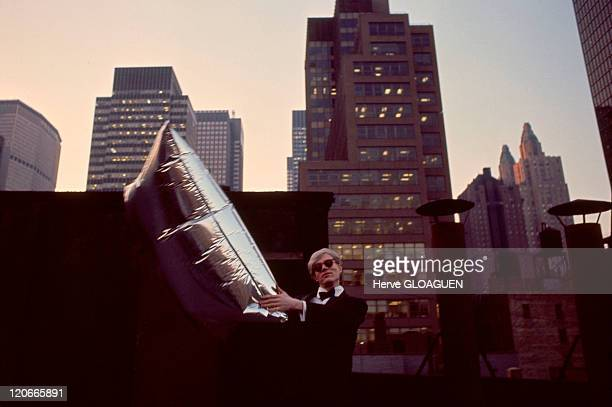 Andy Warhol in New York United States in 1967