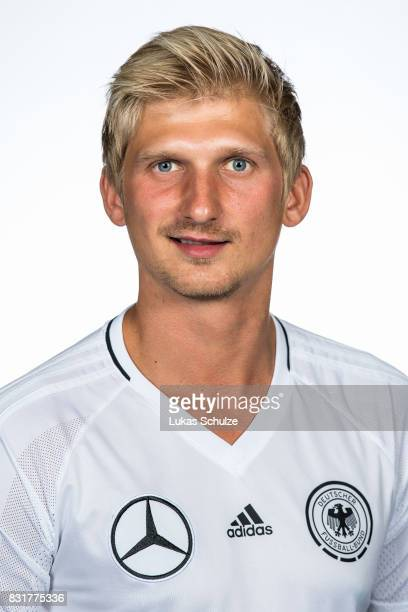 Andy Watzlawczyk poses at Sport School Wedau on August 11 2017 in Duisburg Germany