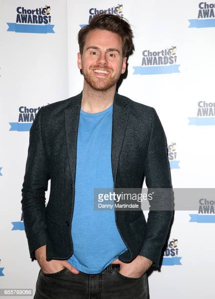 Andy West attends the Chortle Comedy Awards 2017 on March 20 2017 in London United Kingdom