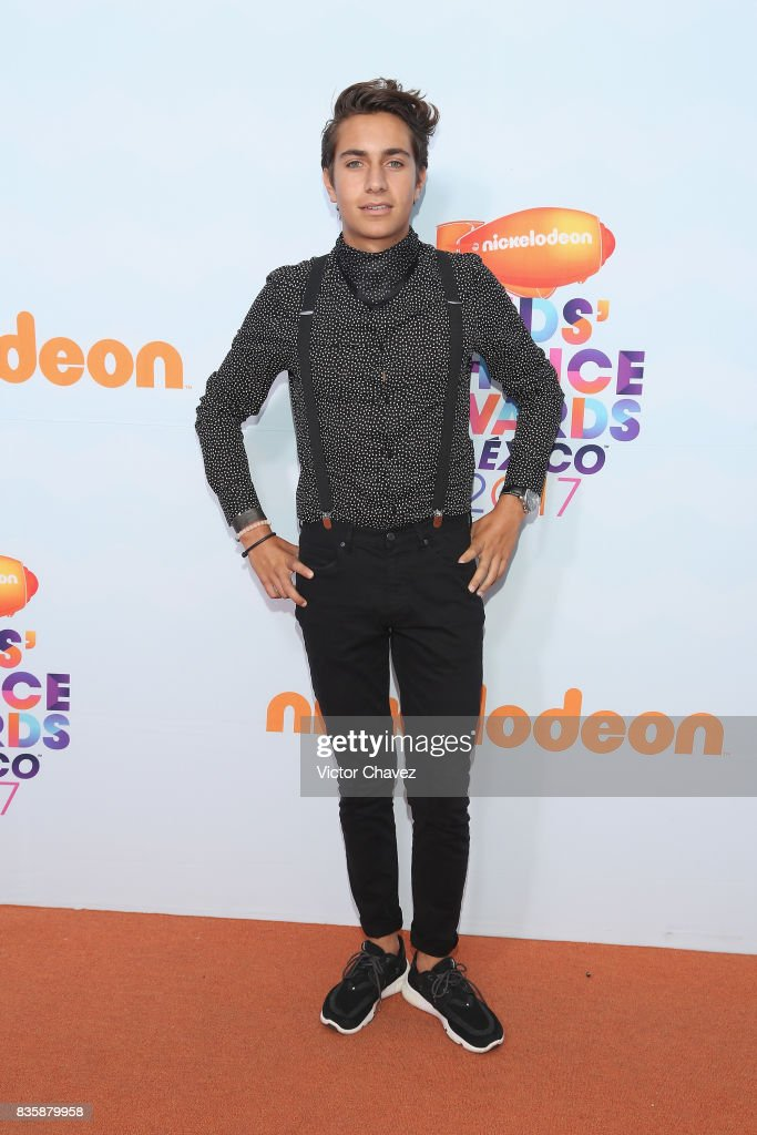 Andy Zurita attends the Nickelodeon Kids' Choice Awards Mexico 2017 at Auditorio Nacional on August 19, 2017 in Mexico City, Mexico.