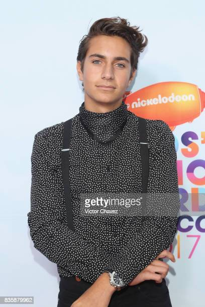 Andy Zurita attends the Nickelodeon Kids' Choice Awards Mexico 2017 at Auditorio Nacional on August 19 2017 in Mexico City Mexico
