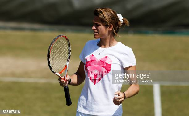 Andy's Murray's coach Amelie Mauresmo