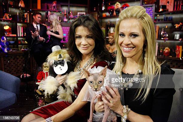 LIVE 'Andy's New Year's Party' Pictured Lisa VanderPump Dina Manzo