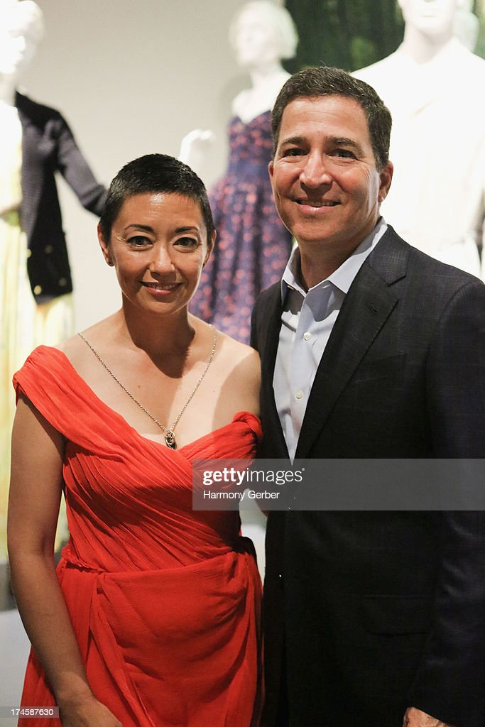 Ane Crabtree and Bruce Rosenblum attend The Academy Of Television Arts & Sciences' Costume Design & Supervision Peer Group 65th Primetime Emmy Awards Nominee Reception on July 27, 2013 in Los Angeles, CA. (Photo by Harmony Gerber/FilmMagic)gic)