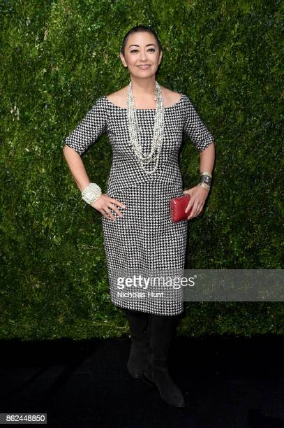 Ane Crabtree attends Through Her Lens The Tribeca Chanel Women's Filmmaker Program Luncheon at Locanda Verde on October 17 2017 in New York City