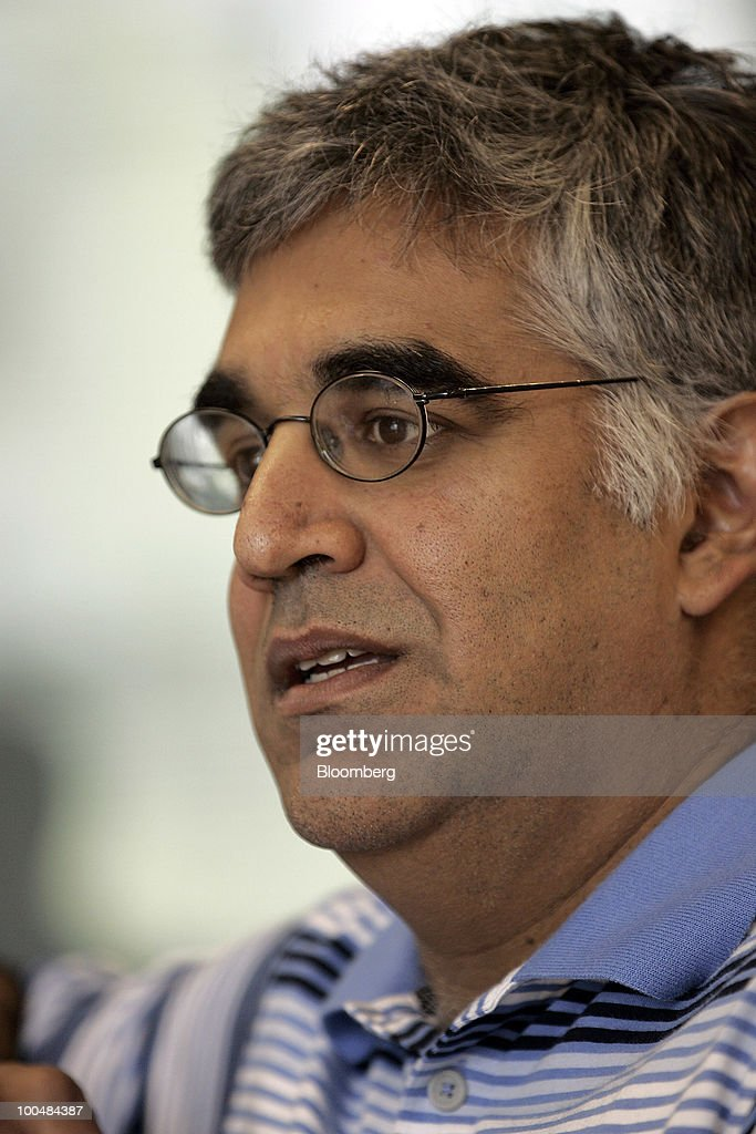 Aneel Bhusri, co-founder and co-chief executive officer of Workday Inc., speaks during an interview at company headquarters in Pleasanton, California, U.S., on Friday, May 21, 2010. Workday sells subscriptions to Internet based software that some of the world's largest companies use to manage human resources, payroll, accounting, buying products and sending out orders. Photographer: Tony Avelar/Bloomberg via Getty Images