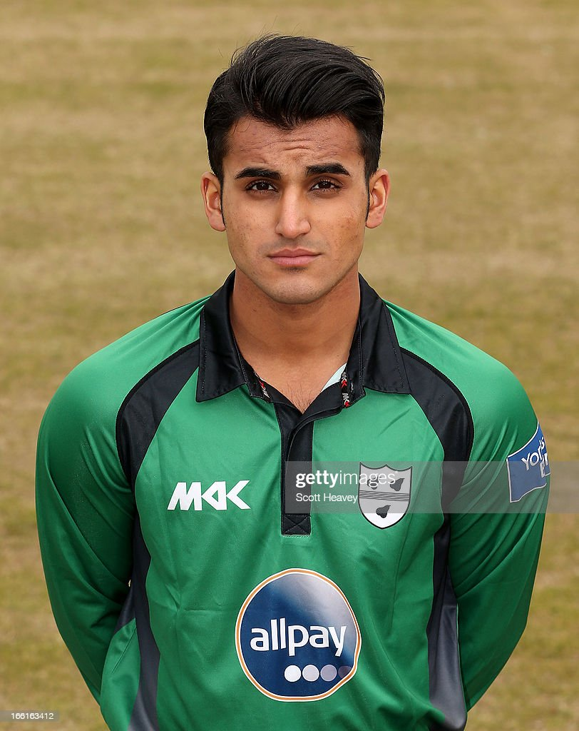 Aneesh Kapil during a Photocall for Worcestershire County Cricket Club on April 9, 2013 in Worcester, England.