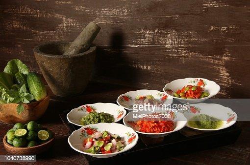 Aneka Sambal Nusantara Several Popular Spicy Condiments From