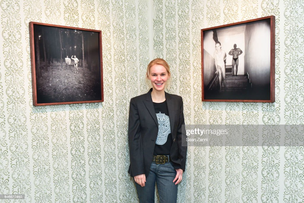 Aneta Bartos at Spring Break Art Fair 2017 Vernissage at 4 Times Square on February 28, 2017 in New York City.