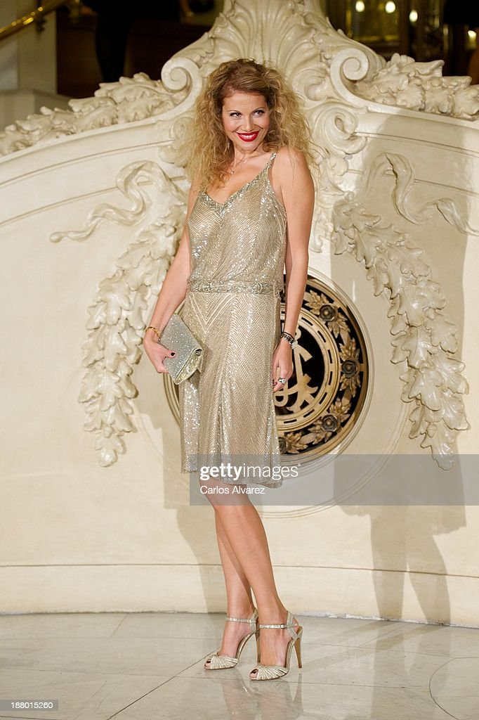 Aneta Mijatovic attends the Ralph Lauren Dinner Charity Gala at the Casino de Madrid in on November 14, 2013 in Madrid, Spain.