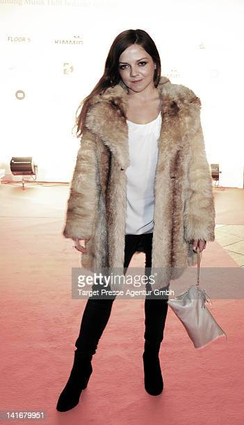 Anett Louisan attends the 'Musik Hilft' charity dinner at Grill Royal on March 21 2012 in Berlin Germany